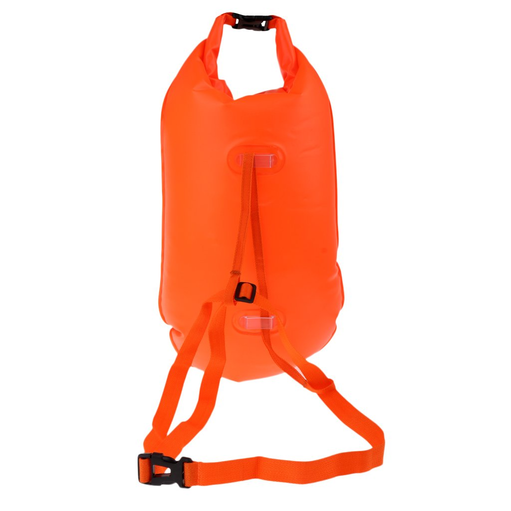 Baosity Inflatable Swim Safety Tow Float Dry Bag Sack Orange + Anti-water Phone Case Cover for Water Sports by Baosity (Image #10)