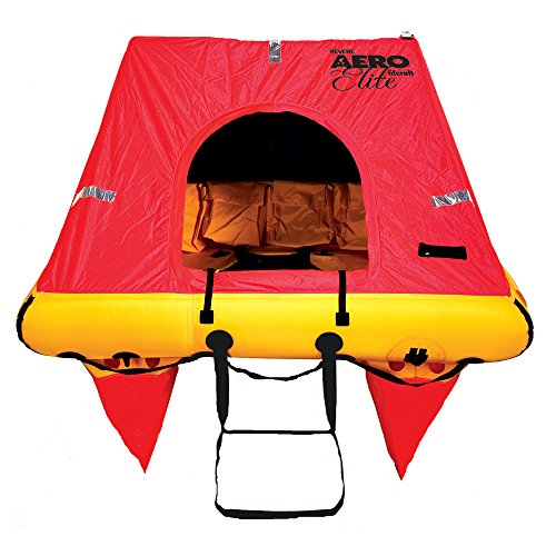 Person Raft 4 Valise Life (Revere 4 Person Aero Elite Valise Liferaft)