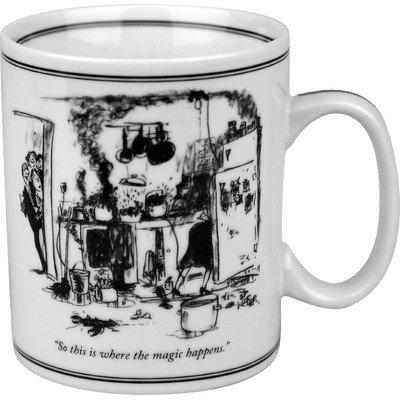 The New Yorker Magic Happens Mug