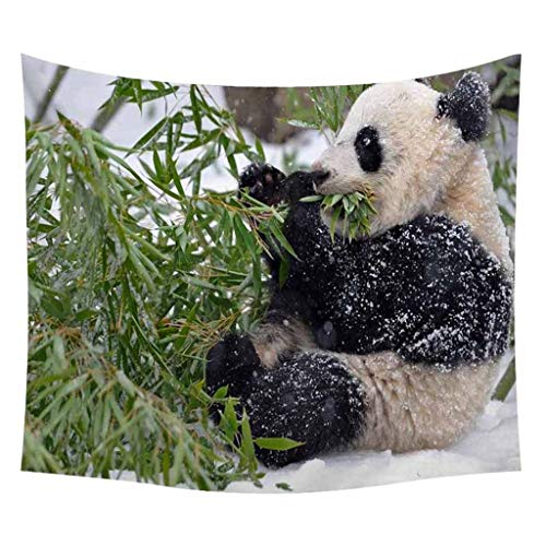 - Indoor Tapestry, pollyhb Lovely Panda Picture Tapestry Wall Hanging Home Decoration for Children Kids Room
