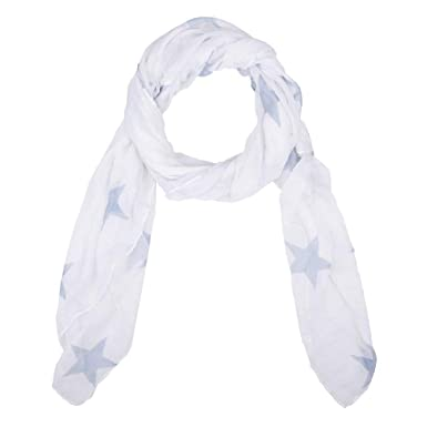 6fad356d4821 Foulard pour femme imprimé étoiles