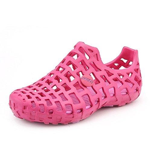 HangFan Men-Women Comfort Soft Walking Water Shoes, Pool Shower Beach Sandals Pink
