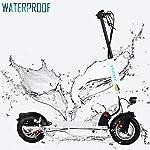 HAOYF-Monopattino-Elettrico-400W-Motor-10Solid-Tires-Fino-A-30-KM-Scooter-Elettrico-Pieghevole-per-Adulti-per-Spostamenti-E-Viaggi-Carico-Massimo-120-kg-264-Libbre-Nero