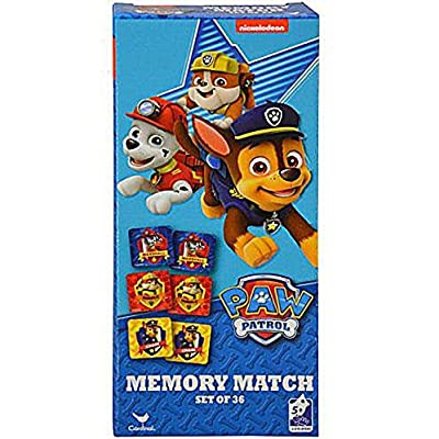 Paw Patrol 36-Piece Memory Match Tower Game: Toys & Games
