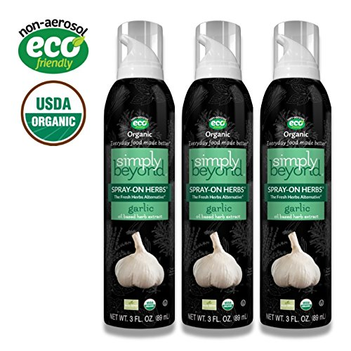 - The Garlic Lover (3 Simply Beyond Organic Spray-On Herbs Seasoning - Garlic)