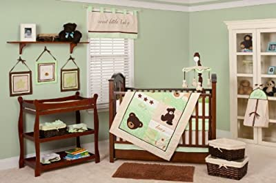 Pam Grace Creations Baby Bear 10 Piece Bedding Set from Pam Grace Creations