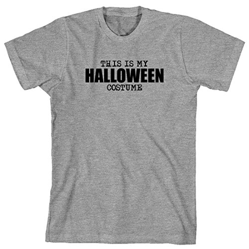[This Is My Halloween Costume Men's Shirt - X-Large - Sports Gray] (Mens Sports Costume Ideas)