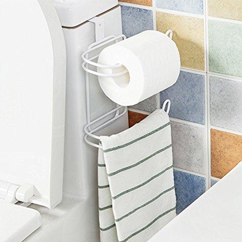 ALLOMN Over Tank Toilet Paper Roll Holder and Dispenser for Bathroom ...