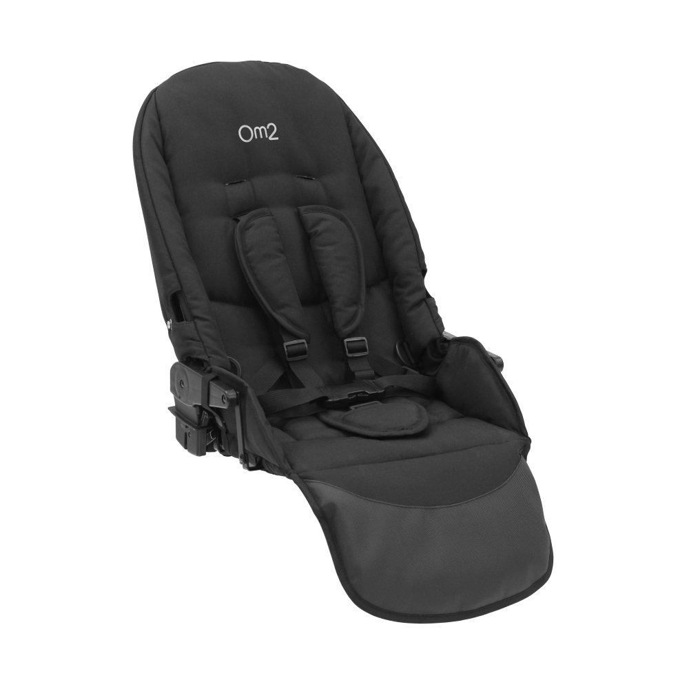Oyster Max 2 Lie-Flat Tandem Seat without Hood (Black) MAX2LFTANDEM