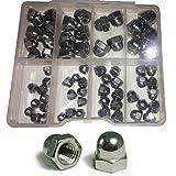 (65PCS) - Stainless Steel Cap Nut Dome (ACORN) ASSORTMENT