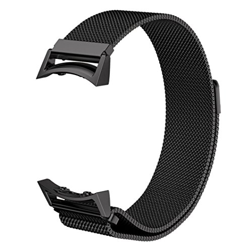Silicone Watch Band for Samsung Galaxy Gear S2 SM-R720 (Black) - 7