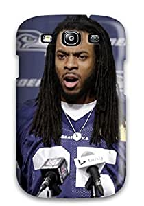Hot Snap-on Seattleeahawks Hard Cover Case/ Protective Case For Galaxy S3