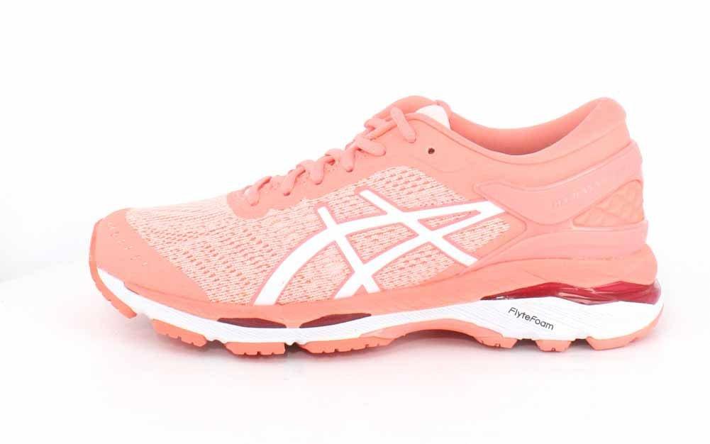 ASICS Women's Gel-Kayano 10.5 24 Running Shoe B071P1B99J 10.5 Gel-Kayano B(M) US|Seashell Pink/White/Begonia Pink 777fe8