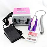 18W 30000RPM Electric Nail Drill Machine 220V/110V Pro Manicure Pedicure Nail Art Tools Polishing Machine To Nail