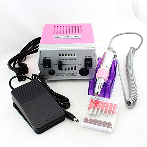 18W 30000RPM Electric Nail Drill Machine 220V/110V Pro Manicure Pedicure Nail Art Tools Polishing Machine To Nail by Unknown