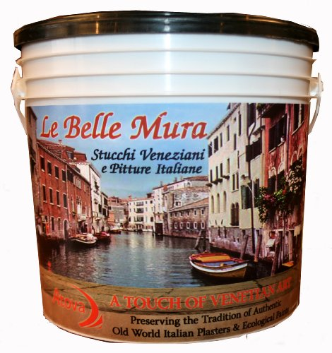 Stucco Veneziano 4 Gallons by Le Belle Mura