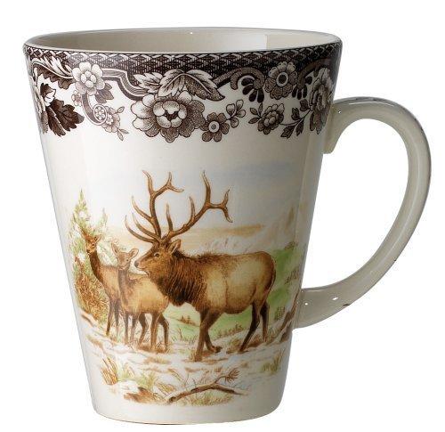 Spode Woodland American Wildlife Elk Mug by Spode