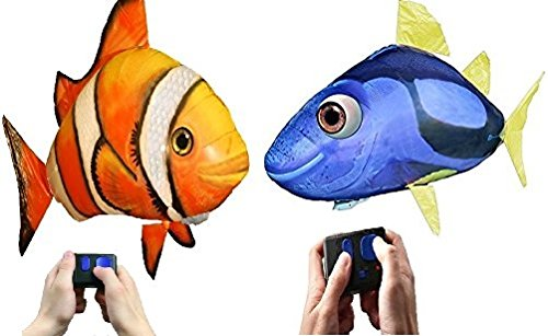 Air Swimmers Remote Control Flying Clownfish and Regal Tang Bundle (Air Swimmers Clown Fish compare prices)