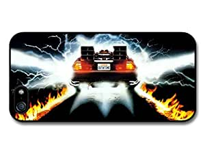Back To The Future Movie Delorian Plate Out At Time Case For Sam Sung Note 2 Cover
