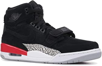 Nike AIR Jordan Legacy 312 Mens Basketball-Shoes AV3922-060_10 - Black/Black-FIRE RED