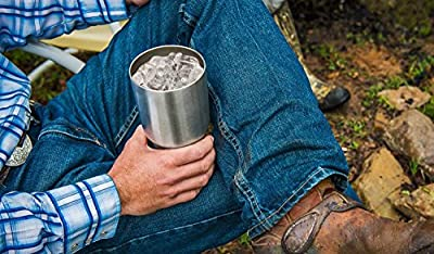 YETI Rambler 10oz Vacuum Insulated Stainless Steel Lowball Lid