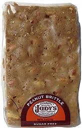Judy\'s Candy Co. Sugar Free Peanut Brittle 8 oz. package