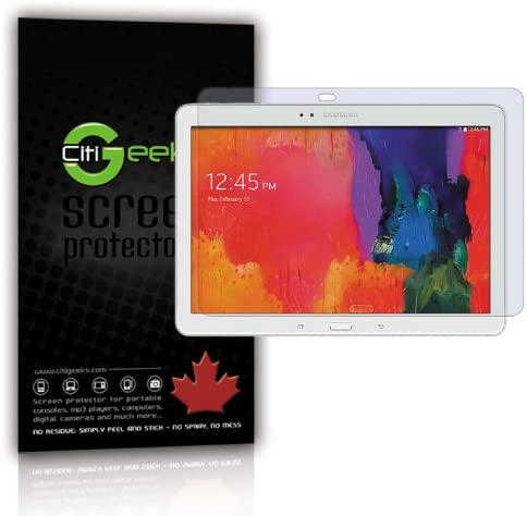 CitiGeeks® Samsung Galaxy Tab PRO 8.4 Screen Protector Clear HD SM-T320 3-Pack