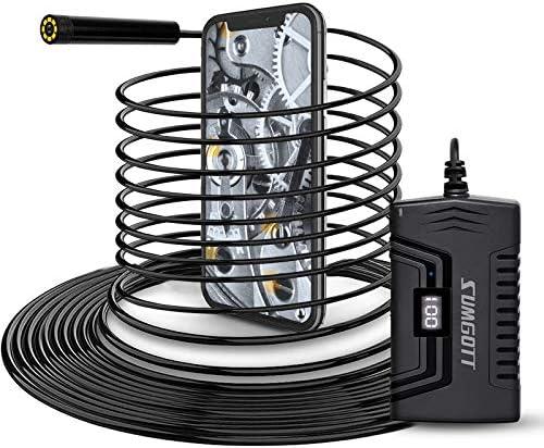 Sumgott Endoscope Camera 1080p Hd Endoscope Wifi Semi Rigid Cable Waterproof Inspection Camera For Smartphone Tablet Auto
