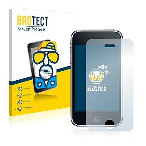2x BROTECT Matte Pellicola Protettiva Opaca per Apple iPhone 3GS Proteggi Schermo Opaco, Antiriflesso