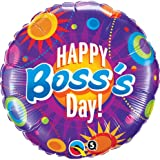 """18"""" Boss's Day Colorful Circles"""