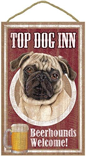 (SJT27958) Pug (Brown/tan color), Top Dog Inn 10