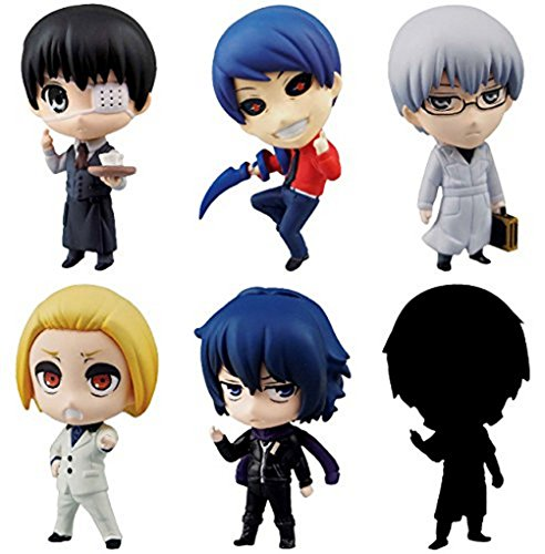 """Aoshima Official Tokyo Ghoul 1.5"""" Volume 2 Keychain Figure"""