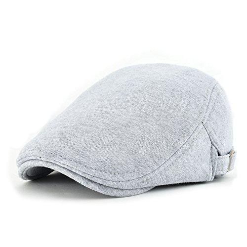 Irish Top Hat (VOBOOM Men's Cotton Flat Ivy Gatsby Newsboy Driving Hat Cap (Light)