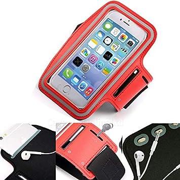DOT. Universal Teléfono Celular Soporte Sudor Resistente Correr Sports Entrenamiento Gimnasio Brazalete para Apple iPhone 11 Pro MAX o Cualquier Pantalla Talla Entre 6.0-6.3 Pulgadas: Amazon.es: Electrónica