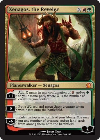 (Magic: The Gathering - Xenagos, the Reveler (209/249) - Theros)