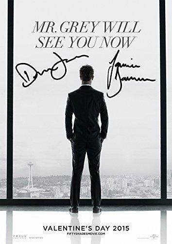 Fifty 50 Shades Of Grey Movie Print Jamie Dornan Dakota Johnson (11.7