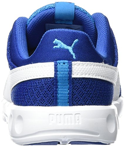 Danube Runner Bleu PS Mesh Carson Blue puma Enfant Sneakers Puma White 02 Basses 400 Mixte Aw4TFF