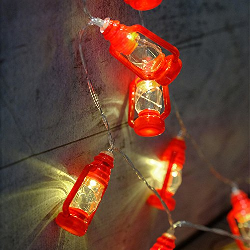 Review 20 LED Red Lantern