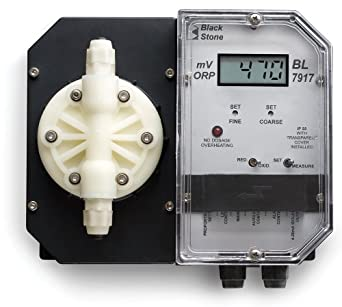 Hanna Instruments BL7917-1 ORP Controller and Chemical Dosing Pump, 7.8 to 13.3 LPH, 115V