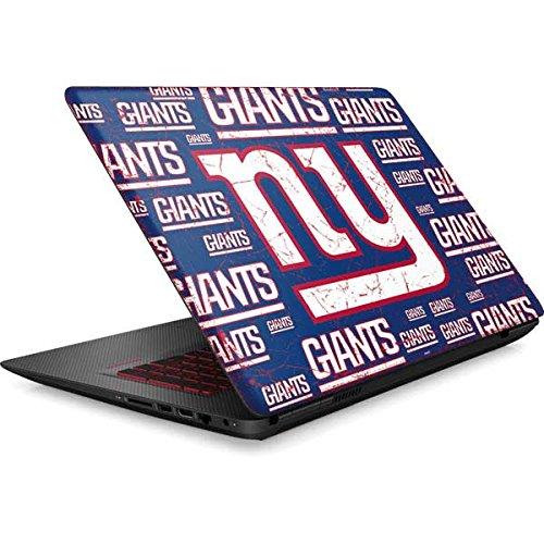 Skinit NFL New York Giants Omen 15in Skin - New York Giants Blast Design - Ultra Thin, Lightweight Vinyl Decal Protection by Skinit