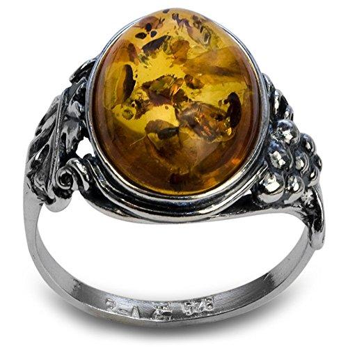 Baltic Amber Ring - 7