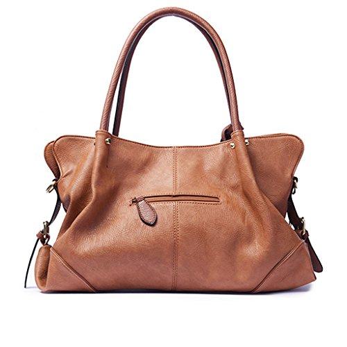 28cm Tote Shoulder Shoulder Women Handbag Shopper Bag Bag Pu Handbag Woman Bag Mud Ppge Single Messenger 39 Tote Leather Bag 15 Briefcase Bag pB48fXq