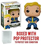 Pop Funko Games Fallout 4 Vault Boy Collectible Figure Vinyl Figure (Bundled with Box Protector Case)