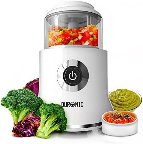 Picadora eléctrica Duronic CH500 500W 4 cuchillas - Robots de cocina - Los mejores precios: Amazon.es: Hogar