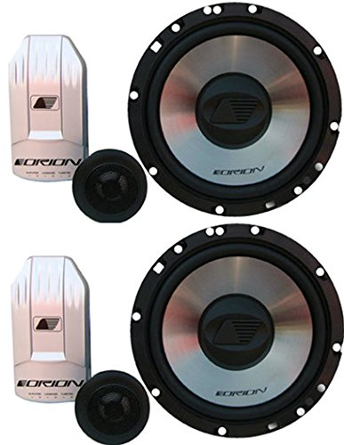 Orion C6.2 6.5-Inch 2 Way 75 Watts RMS Component Set 300W Max 3 - Orion Component Speakers