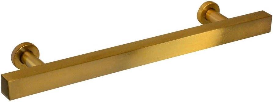 #1500-128 Ckp Brand Hampton Collection Leiste Pull, Amber Gold