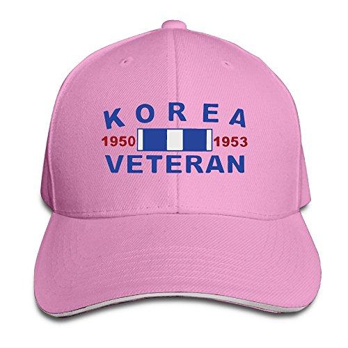 Korea War Veterans Pro-Style Sandwich Twill Peak Cap ()