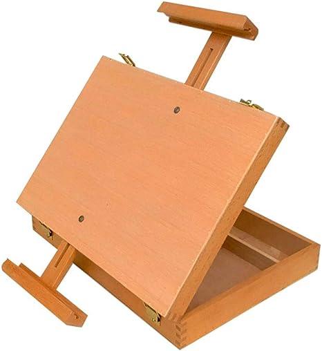 Liuhoulin Caja de Escritorio de Madera Caja de Pintura al óleo Caja de Almacenamiento de Madera Caja de Almacenamiento de Madera Caja de Pintura al óleo: Amazon.es: Deportes y aire libre
