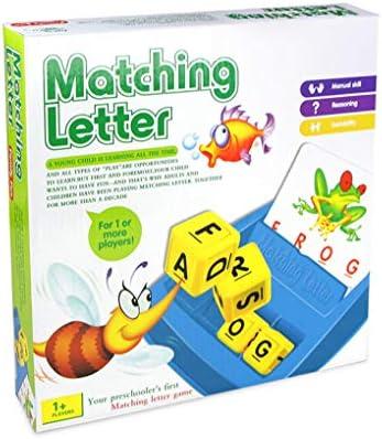 Elenxs Carta a Juego Infantil Educación Temprana Inglés Corrección de Lectura y ortografía con Imágenes: Amazon.es: Hogar