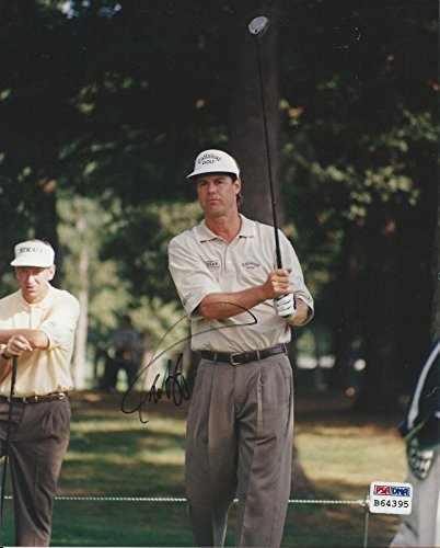 Signed Paul Azinger Picture - 8x10#B64395 - PSA/DNA Certified - Autographed Golf Photos (Certified 8x10 Golf Autograph Photo)
